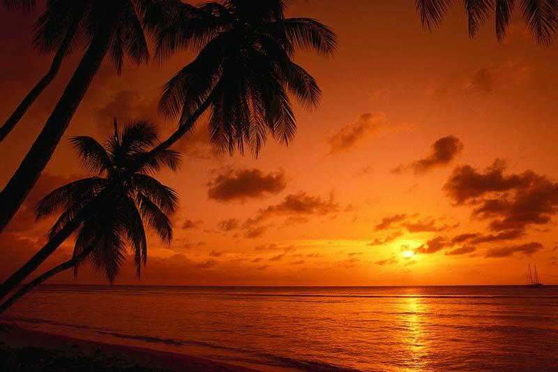 BVI Caribbean Sunset
