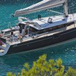Beneteau Sense 50 at Anchor