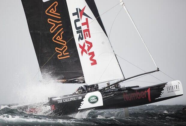 extreme sailing series - team turx