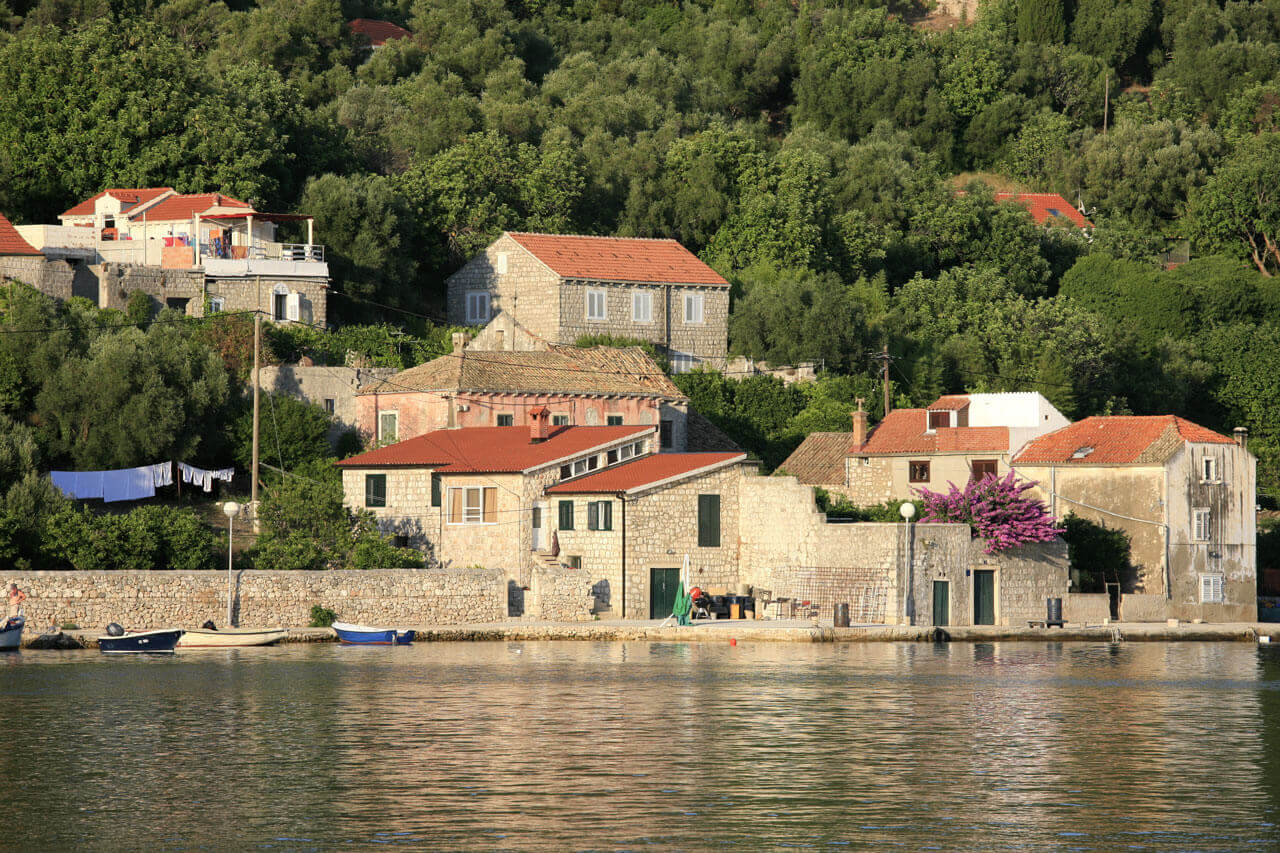Šipan (pronounced [ʃǐpan]) also Sipano (Italian: Giuppana) is the largest of the Elaphiti Islands, 17 km (11 mi) northwest of Dubrovnik, Croatia