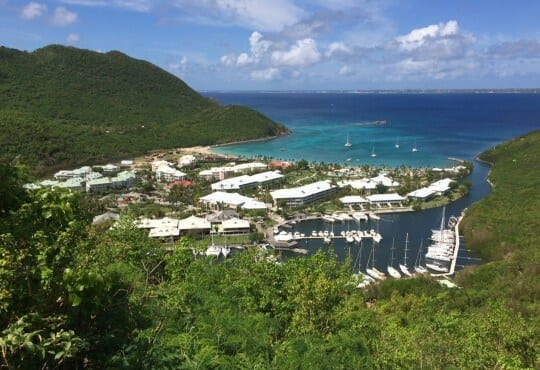 Sailing itinerary St. Martin