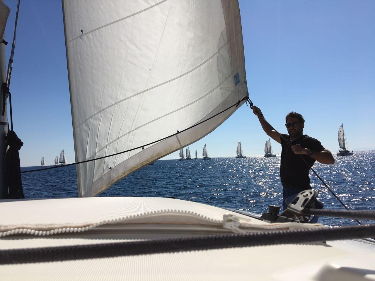my first regatta – catamarans cup – day 1