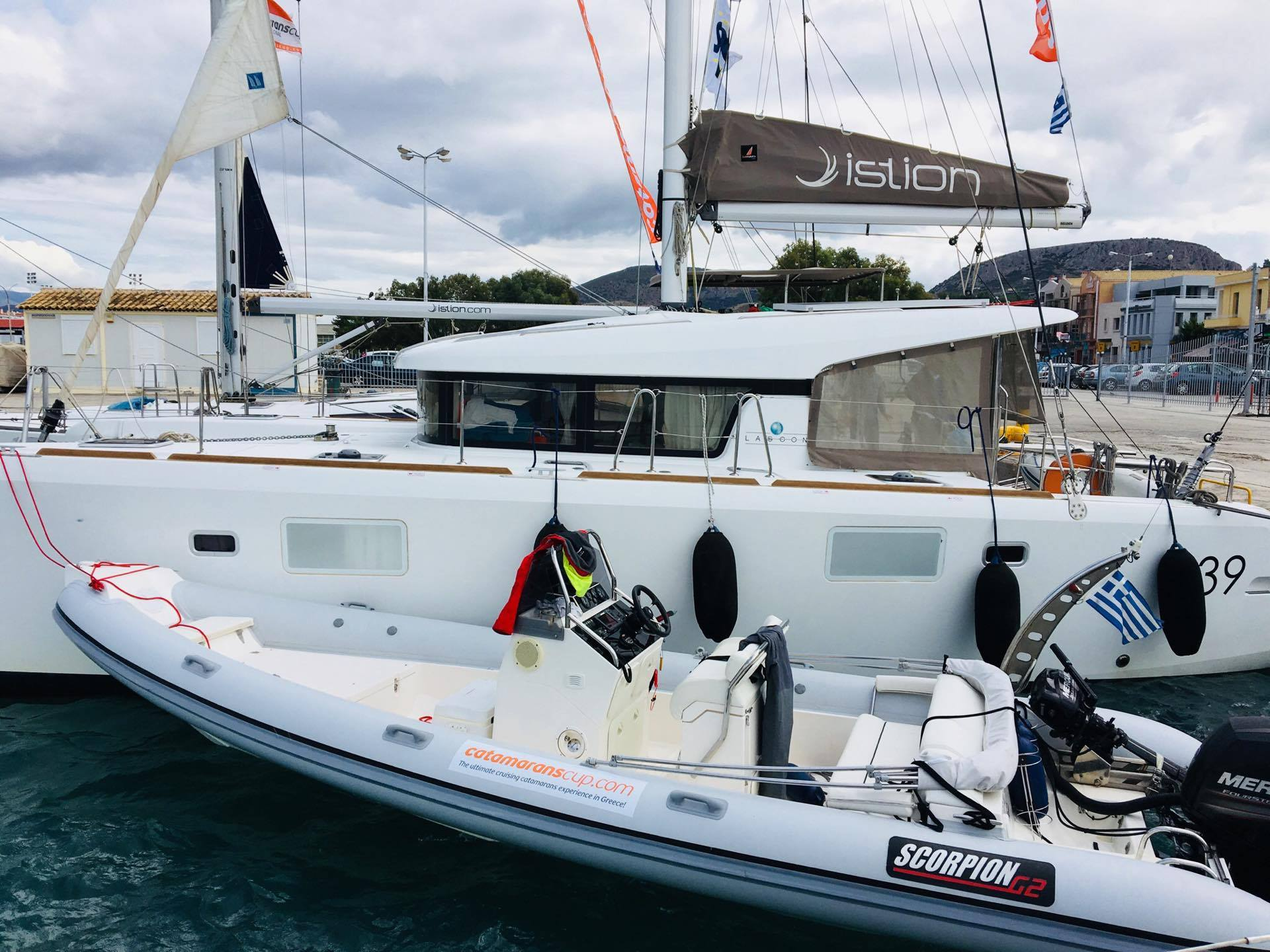 my first regatta – catamarans cup – dinghy