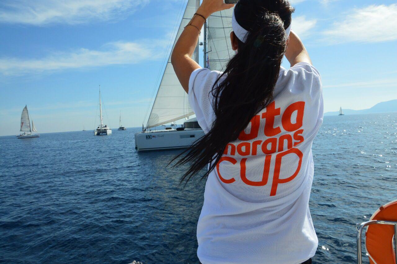 my first regatta – catamarans cup – girl-tshirt