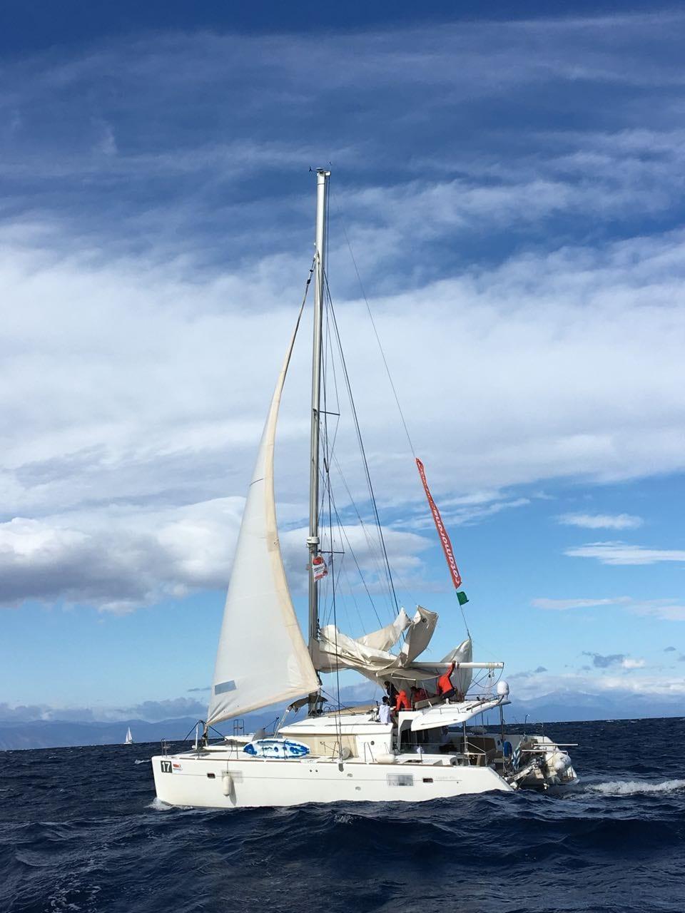 my first regatta – catamarans cup – lagoon 450