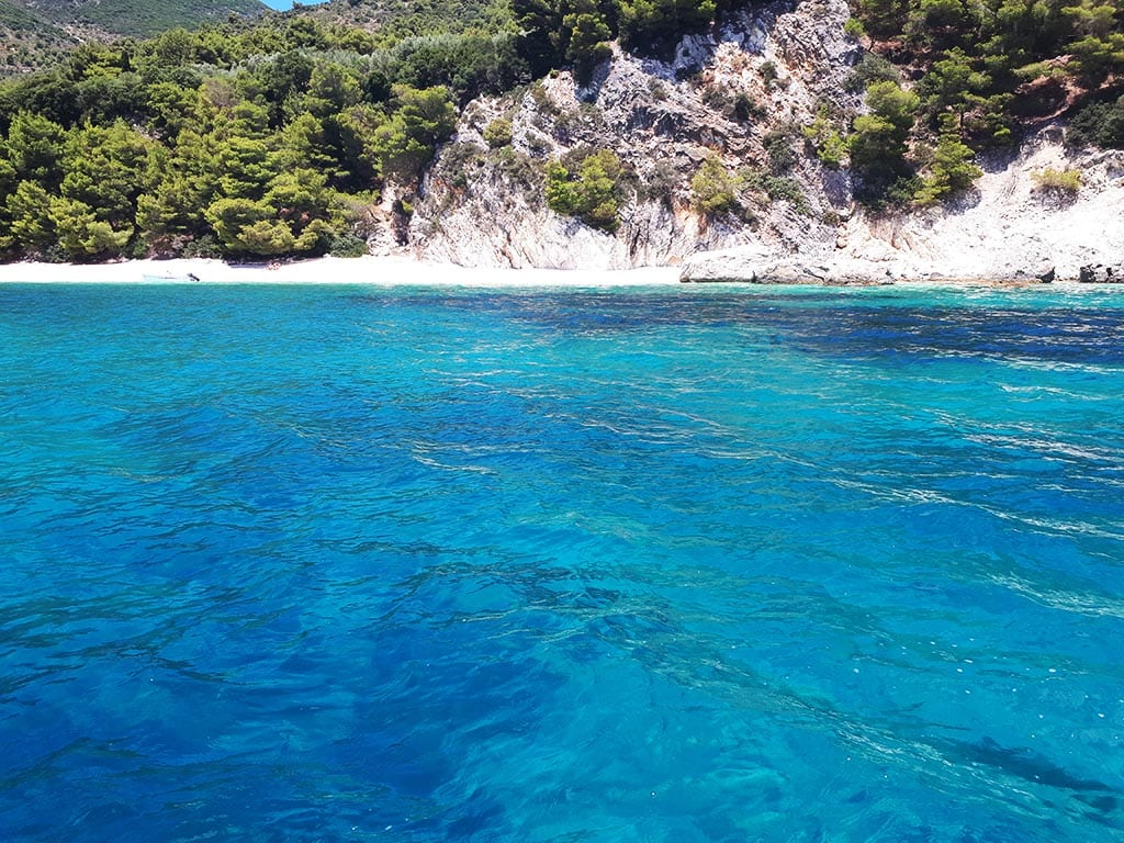 ionian sailing – day two – swim stop