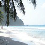 BVI beach scene on a yacht charter holiday
