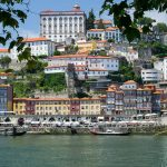 view of the city of Porto on a portugal yacht charter