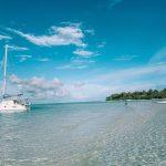 sailing boat in the maldives when sailing in the maldives
