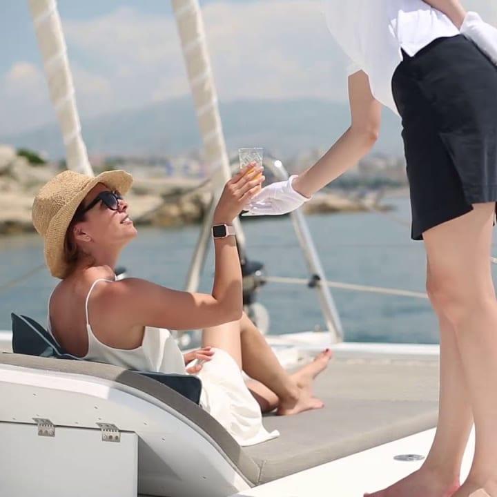 Crewed Yacht Charter Hostess