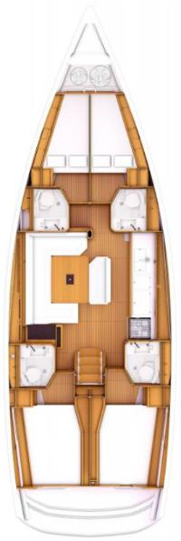 layout monohull class boat