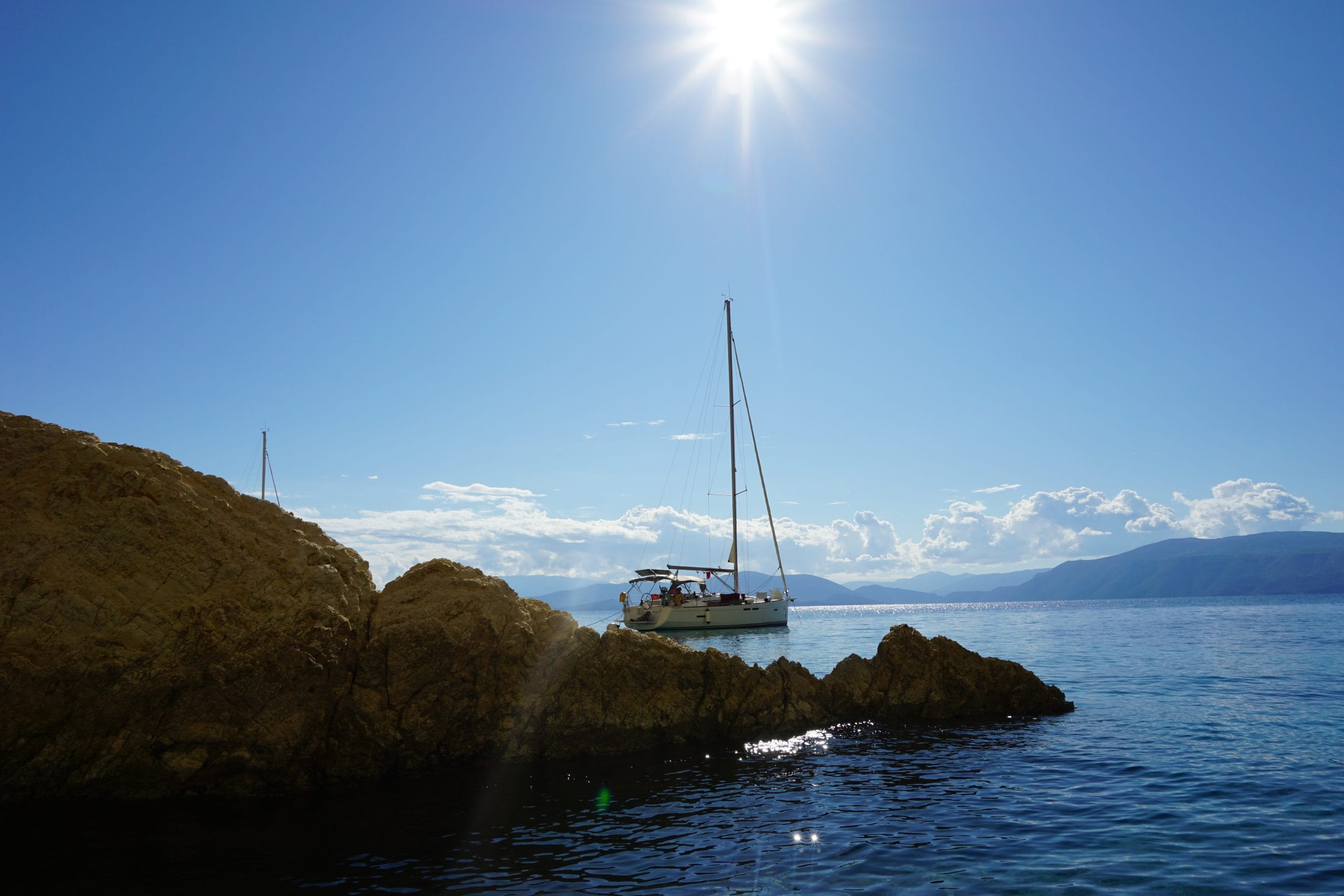 sailing yacht Ionian