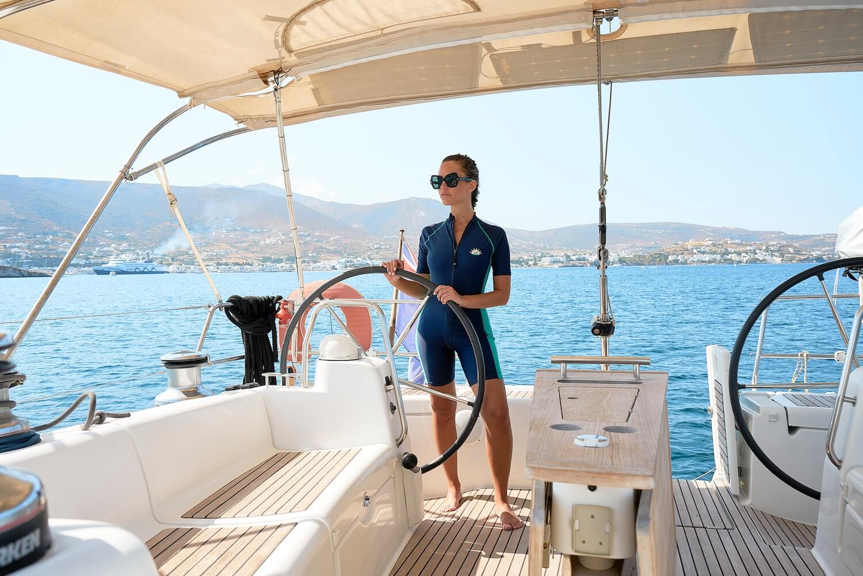 woman skippered yacht charter croatia