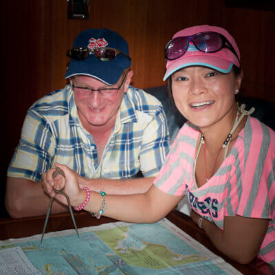 Learning to sail in the Caribbean