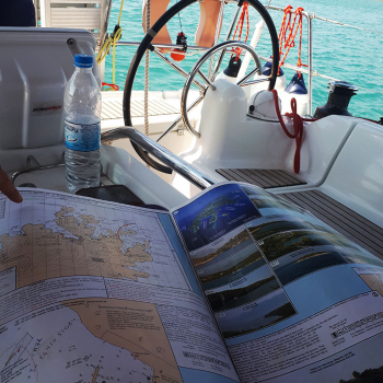 ionian sailing – day one – maps