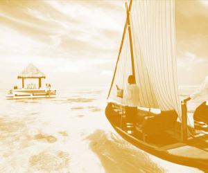 maldives duo tone