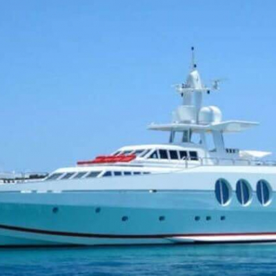 motor yacht never say never