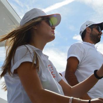 my first regatta – catamarans cup – elpida-steering