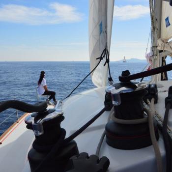 my first regatta – catamarans cup – heading to nafplion
