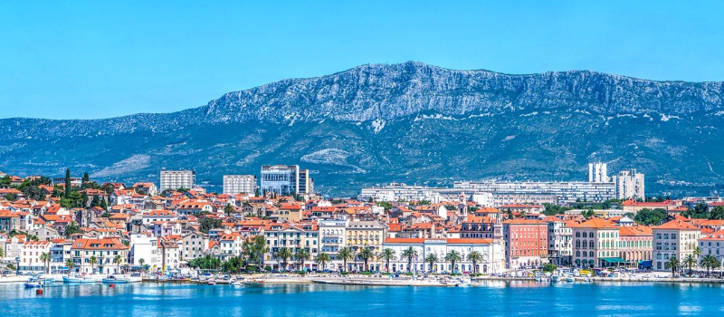 the city of split on a split sailing itinerary south route
