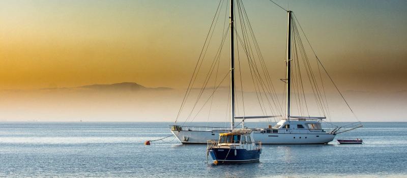 sailing boats on a western Lycian bozburun sailing itinerary